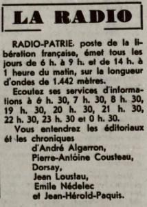 Radio Patrie