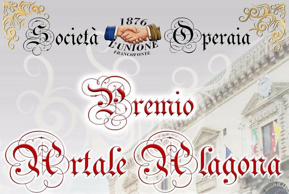 """Francofonte, Società Operaia """"L'Unione"""". Il 14 aprile torna la terza edizione del premio """"Artale Alagona"""""""