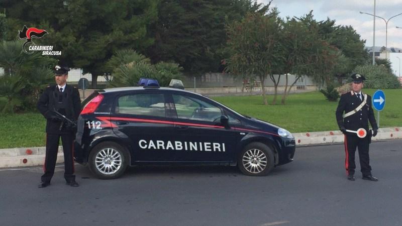Lentini, Evade dai domiciliari, arrestato dai carabinieri