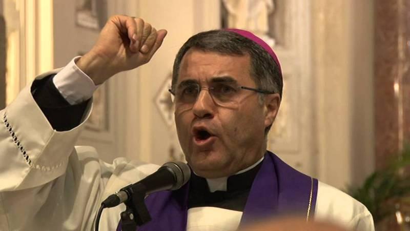 Palermo, l'Arcivescovo Mons. Corrado Lorefice,no mafia in Confraternite