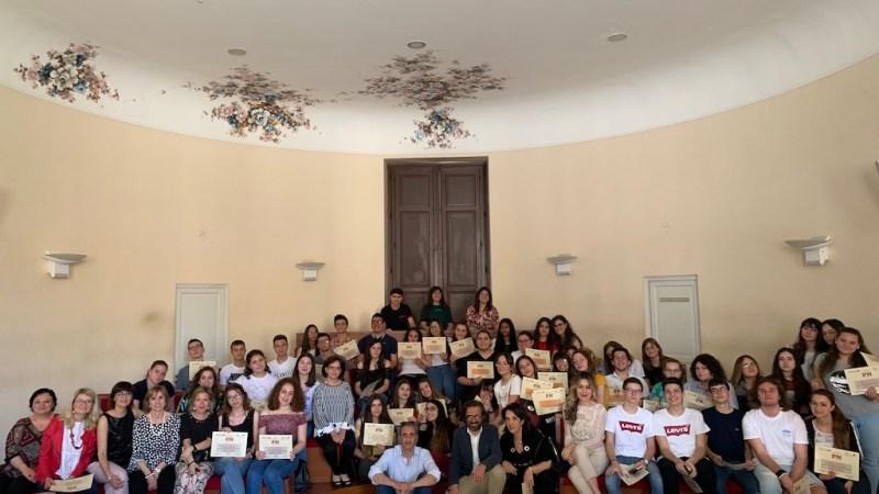 Noto, Scuola e giornalismo, premiati gli studenti del Matteo Raeli