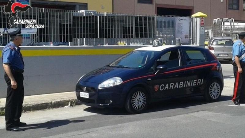 Floridia, Viola le disposizioni del TRibunale, arrestato dai carabinieri