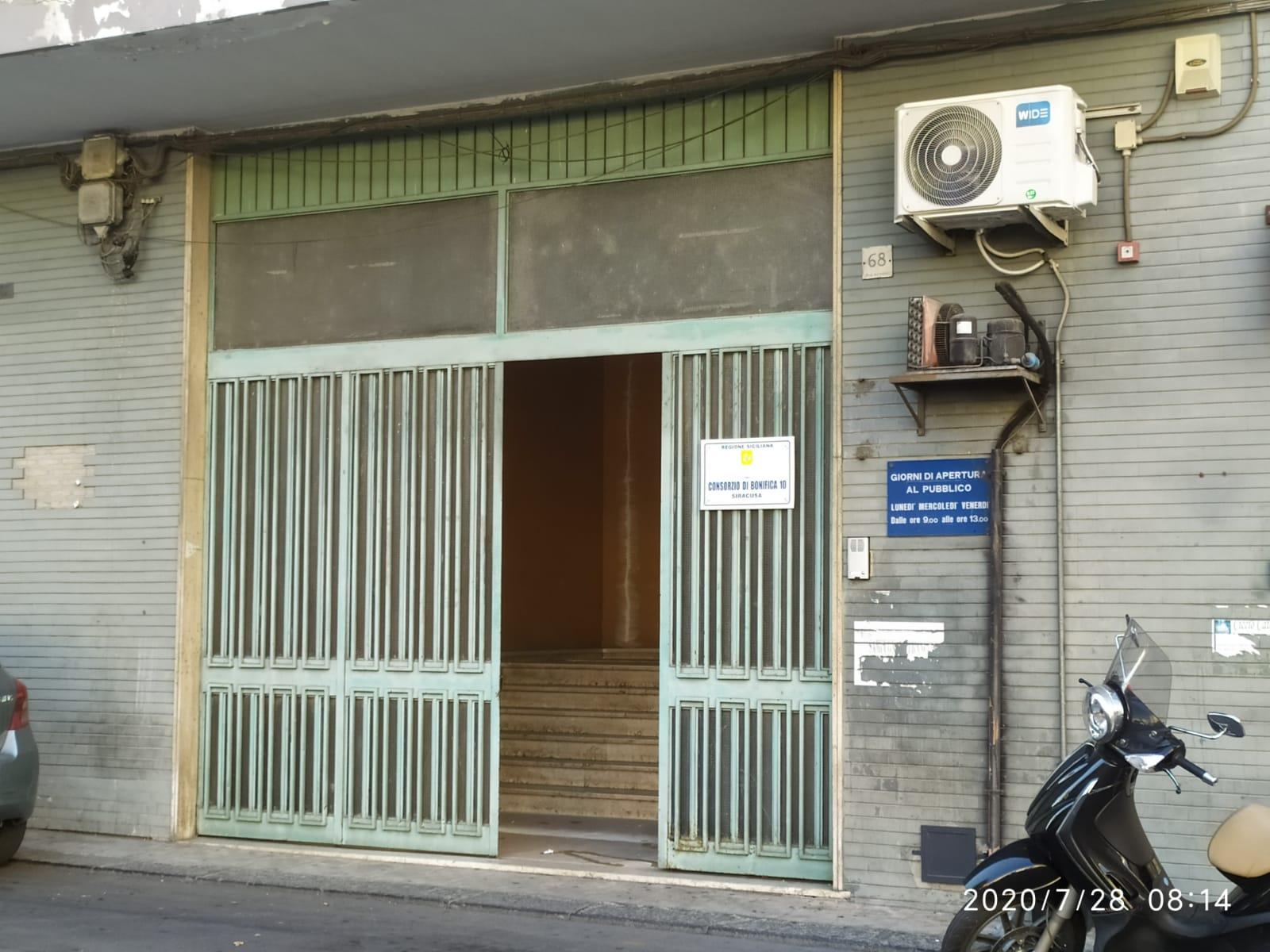 Lentini, Gli uffici dell'Ispettorato Agricoltura ospitati nella sede del Consorzio di Bonifica 10 di via Agnone