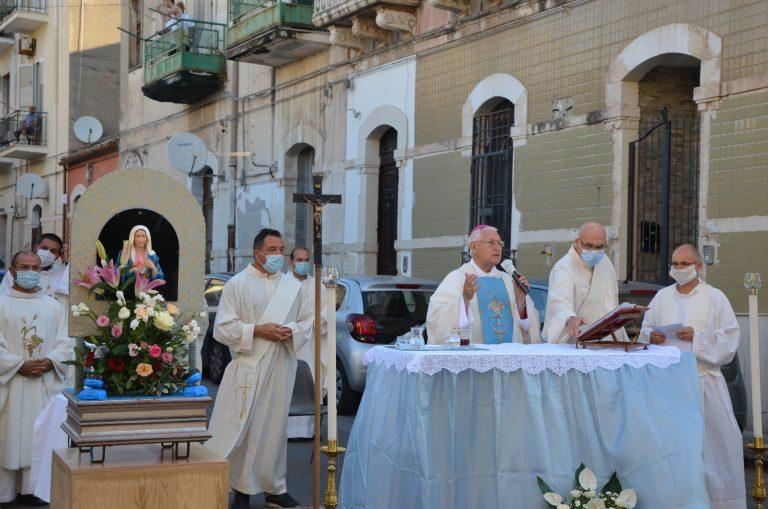 """Siracusa,67° anniversario della Lacrimazione:  Mons. Salvatore Pappalardo: """"Riscopriamo la maternità di Maria"""""""