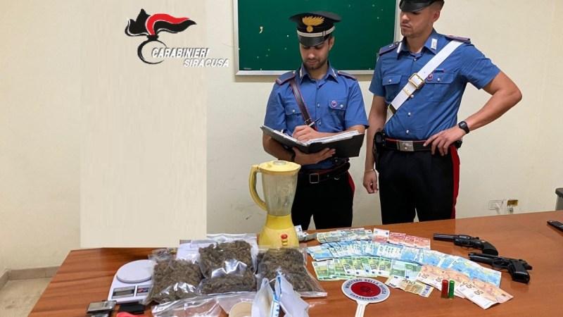 Francofonte, i carabinieri arrestano un uomo per droga