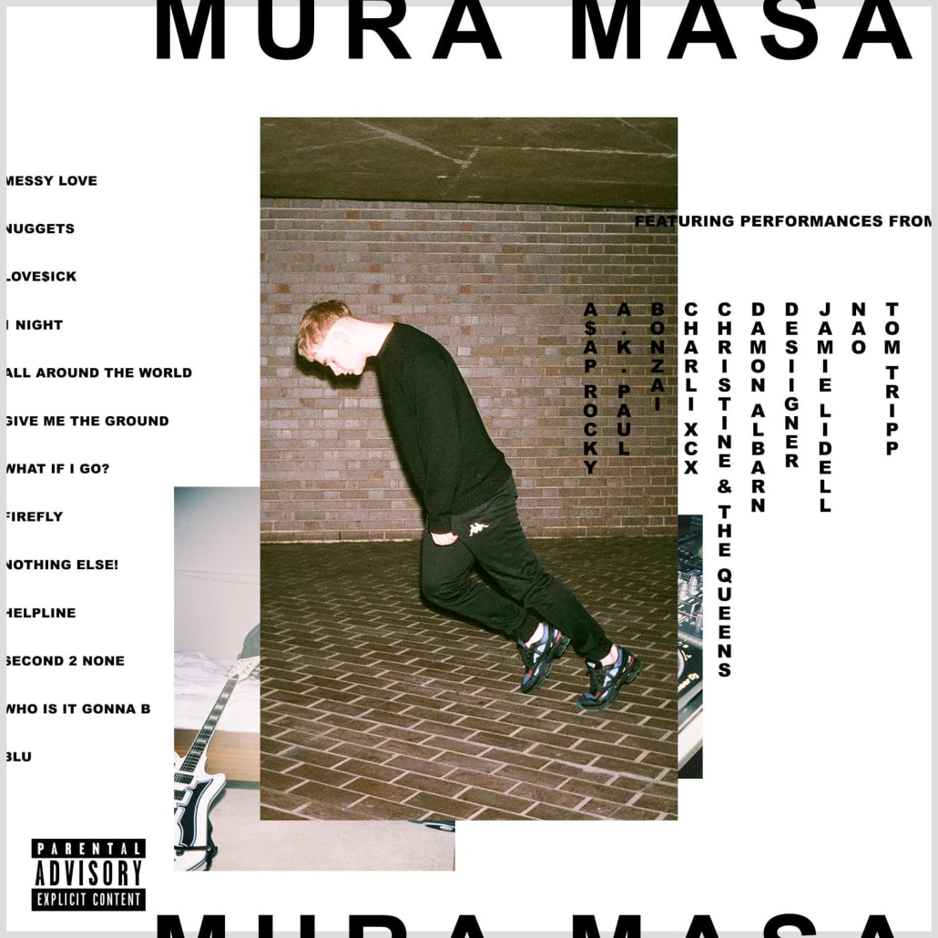 Image result for mura masa cover