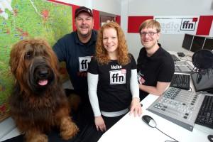 Franky, Heike Klimmek und Axel Einemann. Foto: radio ffn