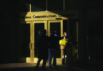 people enter FCC