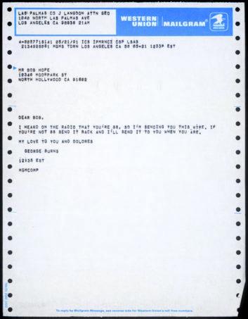 mailgram message