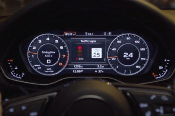 connected car, Audi, C-V2X