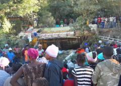 Accident près de Fonds Verrettes : une trentaine de victimes