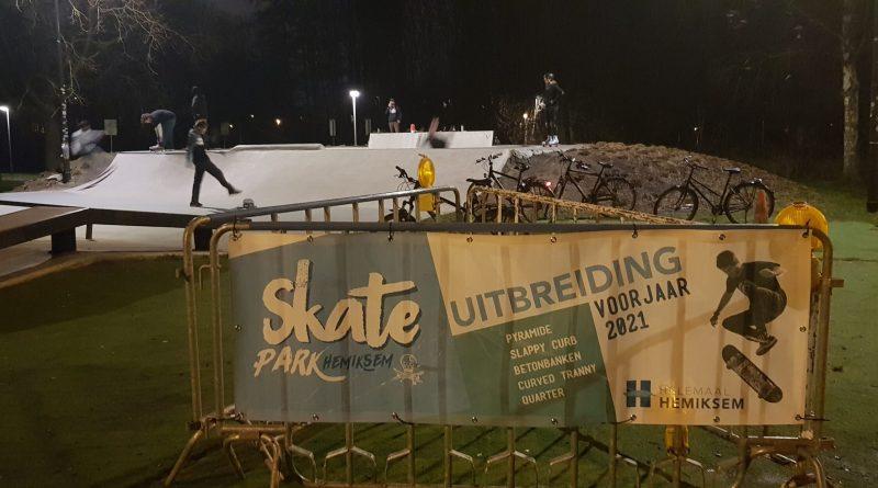 Uitbreiding Skatepark Hemiksem