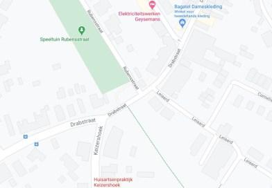 Nutswerken Drabstraat (Kontich) en aansluitende straten