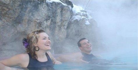 Radium Hot Springs Pool
