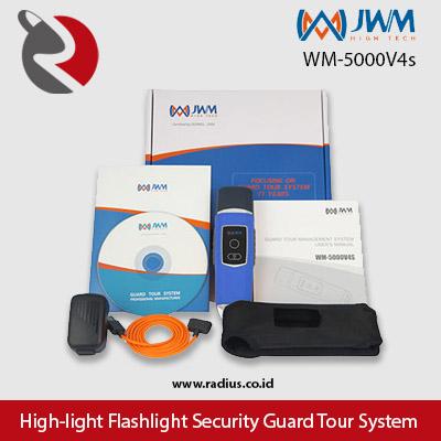 harga paket jwm wm-5000V4s alat patroli