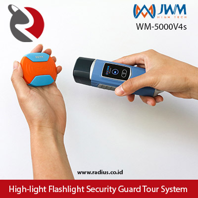 jwm wm-5000V4s alat patroli