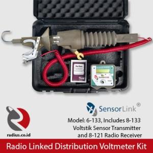 sensorlink voltstik kit 6-133, include voltstik 8-133, radio receiver 8-121