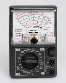 cara mengukur tegangan dengan multimeter analog