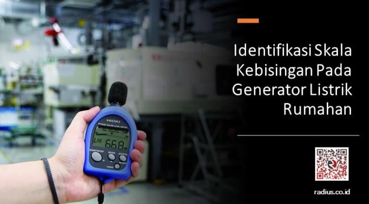 Identifikasi skala kebisingan deng hioki ft3432