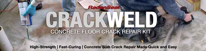 crackweld concrete floor repair kits