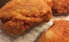 It's fried chikin night. #homemade #unhealthy #indulgence
