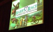 Sis' pre-race mtg! #barbsrace #70-3 #triathlon