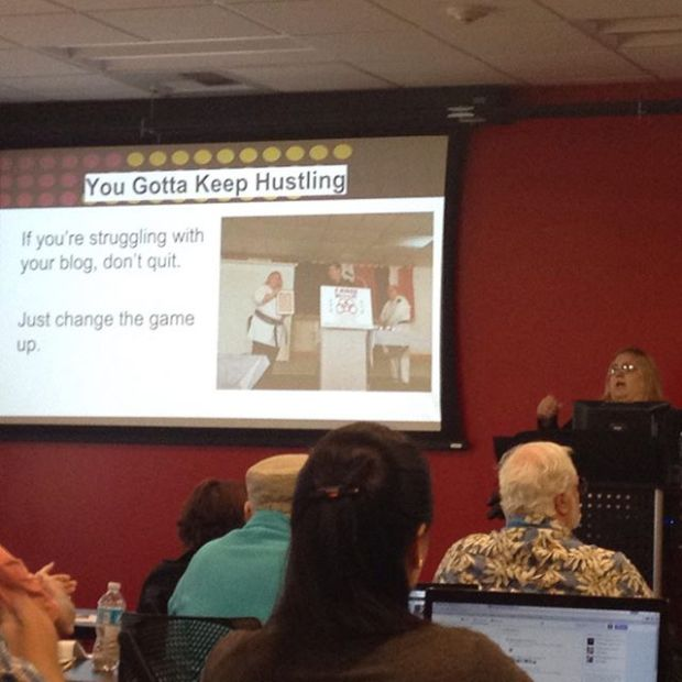 Obvious but great advice from WordCamp Las Vegas via @blondishnet session!