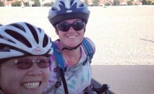 100°F heat, climbs, & headwinds training xD #triathlon