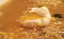Homemade #spicy miso ramen with poached egg #supper [instagram]
