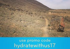 Desert single track = no shade  Stay hydrated, my friends… and enjoy 20% off at nuunlife.com/shop #nuunlife #springhassprung #trailjunkie #trailrunner #beyondvegas #coupon [instagram]