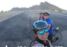 Lovely ride with Jess & Jen @lovestheocean2 Note to self: don't take too many selfies esp. when one is losing daylight and didn't bring a bike light. Lol #im703cda#training#triathlon #hutchsbicyclegarage #baseperformance #racewithbase [instagram]