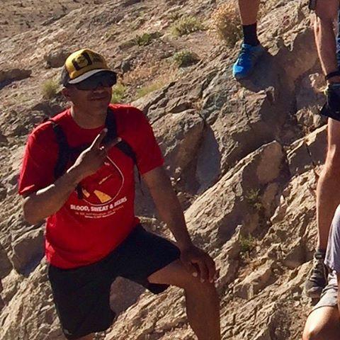 Monday morning group run & summit! (3 of 9)