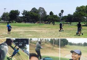 18 holes with my siblings. Life is good. #nuunlife #ineedtopracticemore #instagolf [instagram]