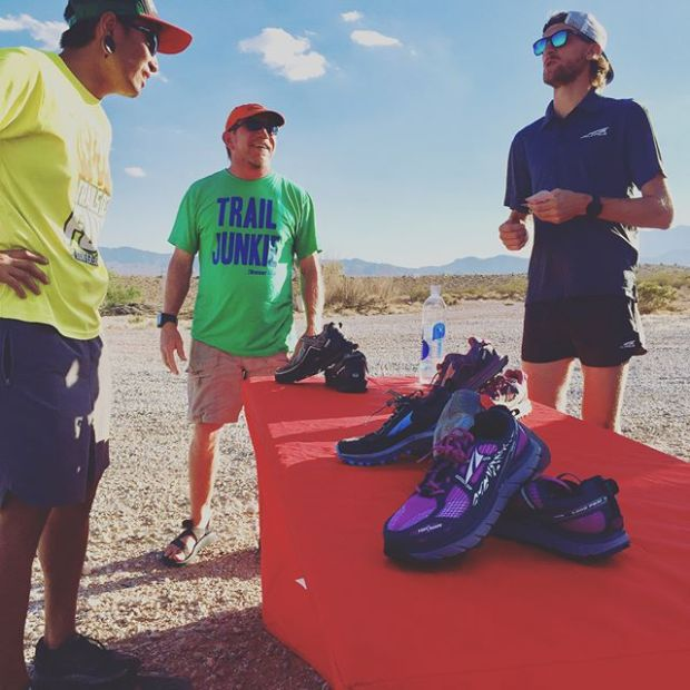 Fun times at SW Ridge with @altrarunning shoe trials. I wanted to love you TIMP, but I'm sticking with my Superiors.