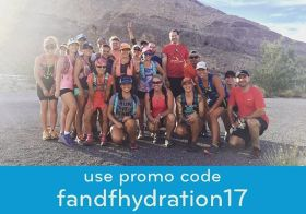 Spreading the #nuunlove to my trail fam! Stay hydrated, my friends [instagram]