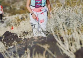 Contemplated life on the trails yesterday. Pondered why the heck I was in a onesie during Vegas' hot spell in autumn. 🤣 Thanks for the photo @desertdashtrailraces #butdidyoudie [instagram]