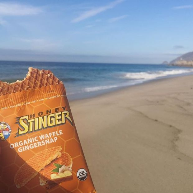 I'm dreaming of the ocean again... I had a Honey Stinger waffle last Sunday with this view! #hshive #stingorbeestung