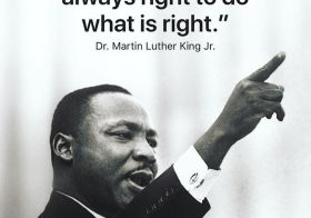The time is always right to do what is right. — Dr. Martin Luther King, Jr. #mlk [instagram]