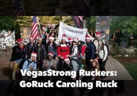 Last night's weekly #VegasStrongRuckers ruck was a Christmas Caroling version for the @goruck Ruck Club Callout and it was so much fun! We did PT, sang popular carols and replaced some lyrics with the word Ruck! 🤣 #ruckclub #ruckclubcallout [instagram]