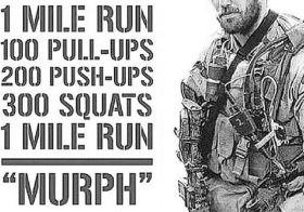 This was rough to do the Murph Challenge this year because I wasn't with friends at @westtechcrossfit but @sandra.beaver.39 got to do the challenge with me via Zoom and it definitely helped (we kept each other motivated during the 50 mins or so. Also, she might have scared a snail 🤣). In memoriam Lt. Michael Murphy. #crossfit #murph2020 #takethechallenge #murphchallenge [instagram]