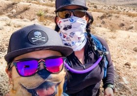 We moved Saturday's miles to a Sunday and were rewarded with amazing weather (sunny & no wind!) This was my first double-digit mileage in almost a year! The build-up is steady & purposeful. Also, we found some desert treasures (aka trash lol) that @gunsarmory will turn into cool artwork. Recovery Bath by @dolcebath702 #baseperformance #risingmountainscoaching #trailrunningvegas #trailrunners #optoutside [instagram]