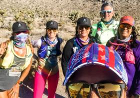 When Yoka mentioned that she and her hubs are doing a run from Late Night to Goodsprings on Sunday and we invite ourselves to their run 🤣 Bucket list item checked! Great fun, some misery, and then more laughs on the trails with these ladies & Sean 😎#trailrunningvegas #baseperformance #teamultra #michelobultra #risingmountainscoaching [instagram]