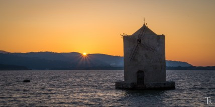 Sonnenuntergang in Orbetello