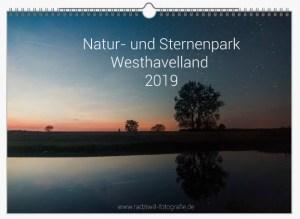 Kalender 2019: Natur- und Sternenpark Westhavelland