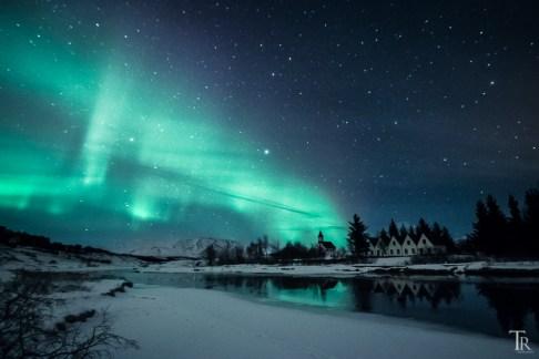 Polarlichter über Island