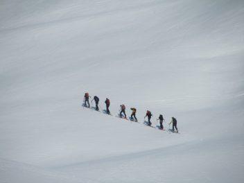 Schneeschuhtour kleiner Kärpf