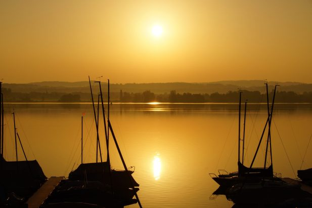Boote am Greifensee