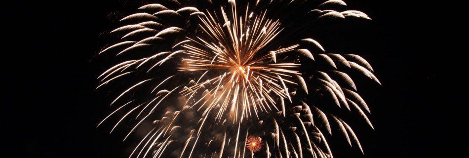 1. August Feuerwerk Baden