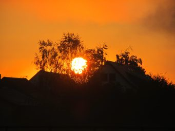 Sonnenaufgang in Oetlikon AG