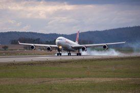 Landing Zürich